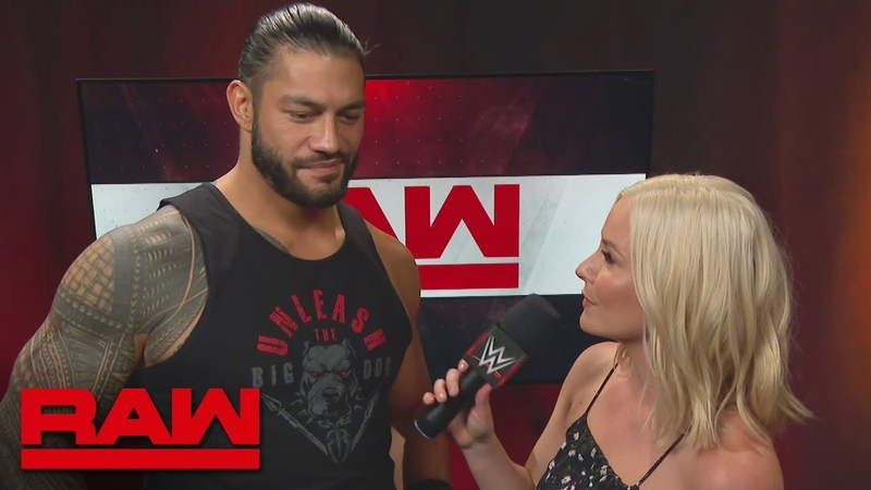Roman Reigns on why Bobby Lashley's skills are useless in his yard: Raw, July 9, 2018