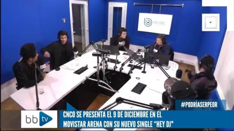CNCO entrevista en Chile. Chris se burla de Erick por su ingles, CNCO FT Little Mix EL VIERNES!