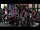 Интервью каста,в том числе и Морены Баккарин, на студии AOL «Build Series» о «Дедпул 2»