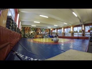 Тренировка в Спортклубе Святогор Санкт-Петербург - Артем Горчаков (БЖЖ/BJJ, Капоэй...