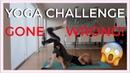 YOGA CHALLENGE pt. 2 - izaandelle