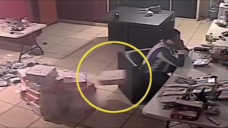 Paranormal Activity Caught On Camera   10 Scary Poltergeist   Part XXVIII