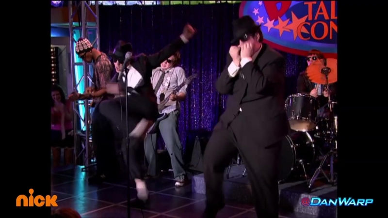 "Drake Bell and Josh Peck perform as the Blues Brothers! _ ""Drake Josh"" _ Dan S"