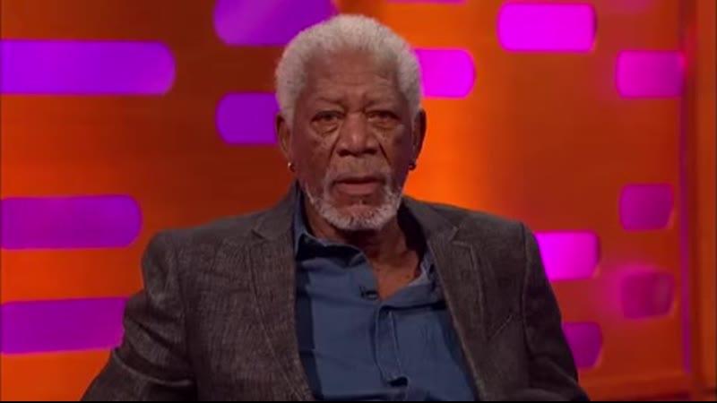 Morgan Freeman narrates Graham Norton's show