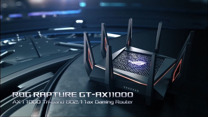 ROG Rapture GT-AX11000 - Future of Speed   ROG