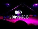 Цирк шапито Звёздный в Юрге 2018