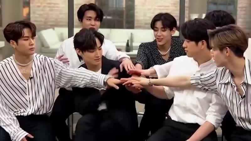 GOT7s American interviews with Wii music @SimplyGyeomie