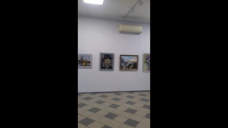 выставка картин Веселкина