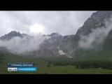 В горах Кавказа появился пик Мустая Карима (видео от 09.07.2018 года)