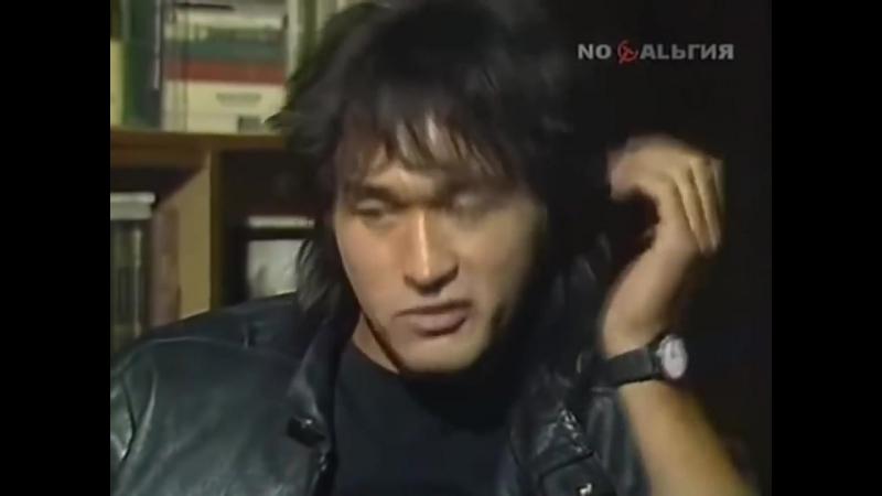 Виктор Цой - интервью про фильм Игла (720p).mp4