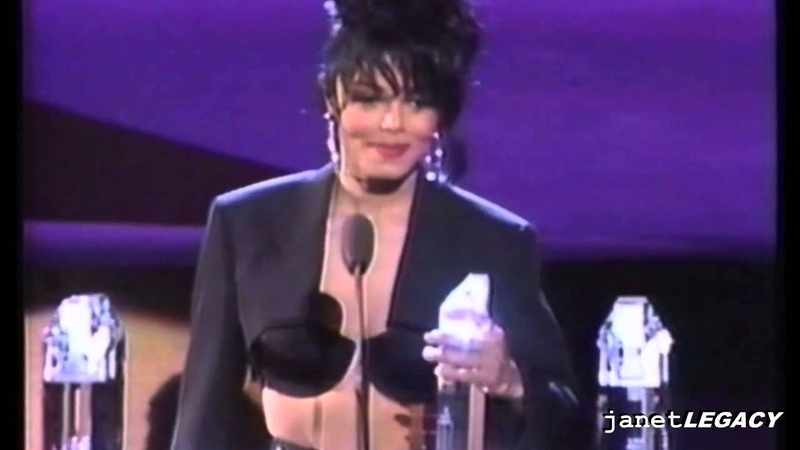 Janet Jackson Sweeps Award Show Wins 8 Awards In One Night 1990