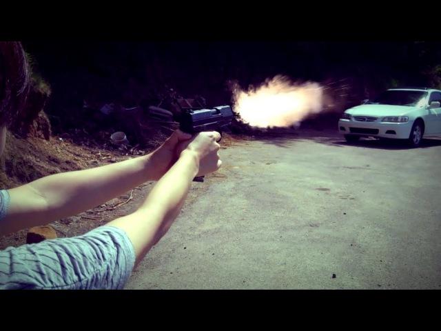 Cp99 Pistol Muzzle Flash test