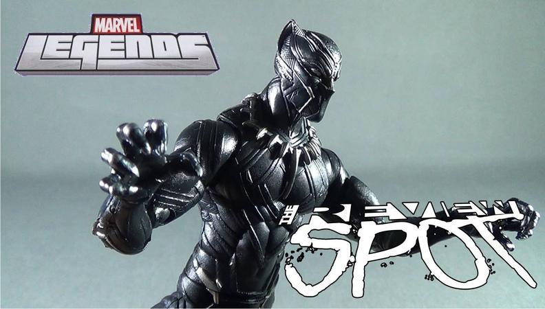 Toy Spot - Hasbro Marvel Legends Series Giant Man Wave Black Panther