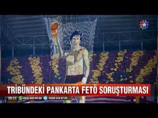 Galatasaray tribünündeki Rockyli Ayağa kalk pankartına Fetö soruşturması
