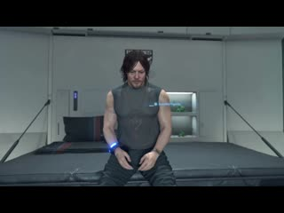 [death stranding] if you havent showered in a while, sam will beg you for one