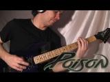 Poison - Unskinny Bop guitar playthrough