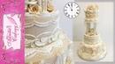 Украшение торта айсингом белковой глазурью Lambeth Wedding Cake HIGHLIGHTS