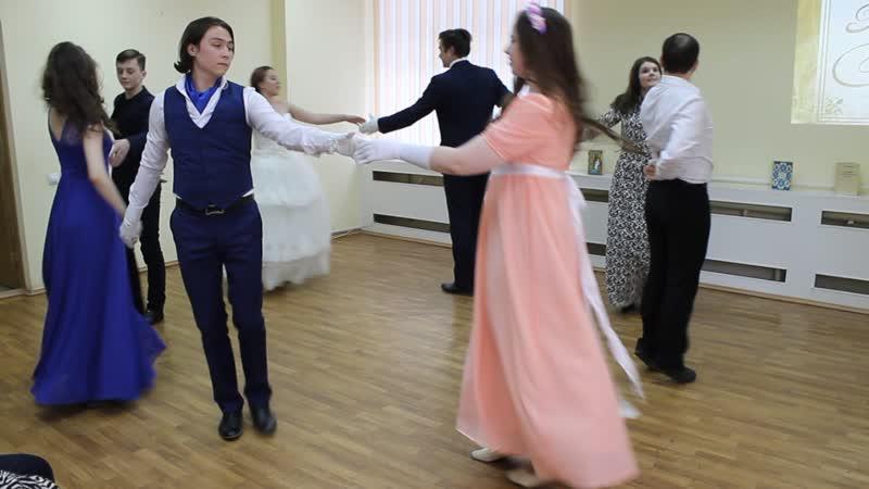 Новый котильон Студия исторического танца Каденция- Международный день танца