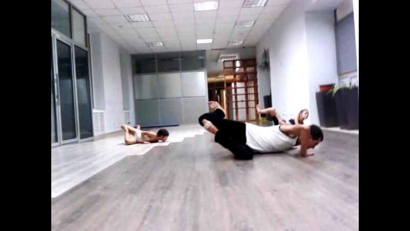 Allman Brown.Contemporary choreography