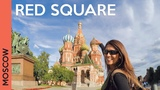 Red Square in MOSCOW, RUSSIA Saint Basil's Cathedral tour + GUM (Vlog 2)
