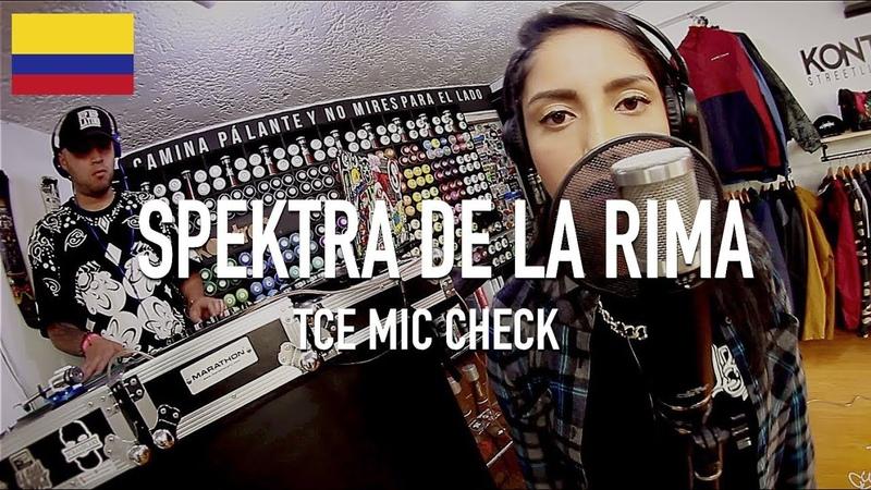 Spektra De La Rima - Untitled ( Feat. DJ Kmos ) [ TCE Mic Check ]