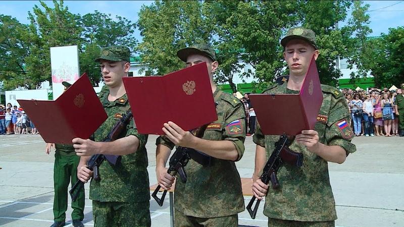 Курсанты учебного центра инженерных войск принесли присягу