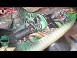 Full Custom | Power Ranger Yeezy 350 V2s by Sierato (FML)