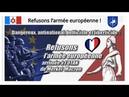 Non (!) à l'Armée Européenne Junker-Merkel-Macron...Trahison? Lire descriptif (Hd 720) Remix