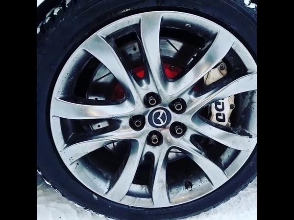 Тюнинг Mazda 6 Тормозная система 8 поршней KIDO Racing