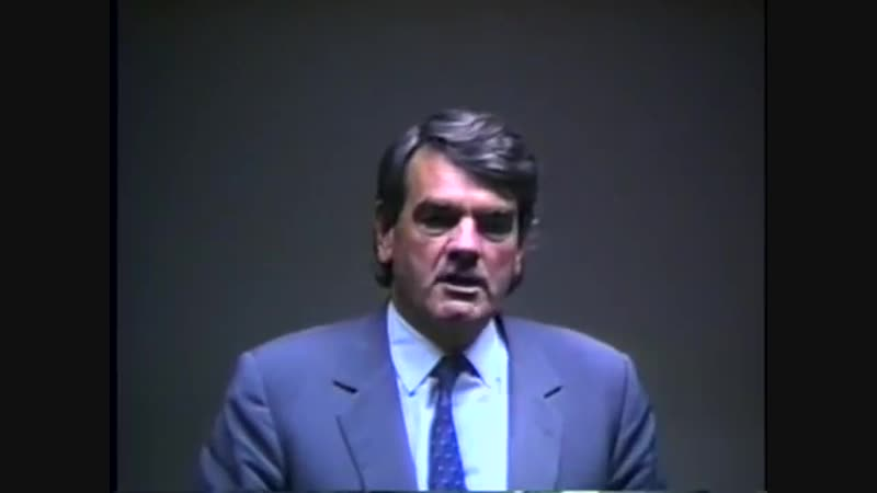 David Irving Talks About How Jews Have Harassed Him (1989)