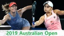 Maria Sharapova vs Ashleigh Barty