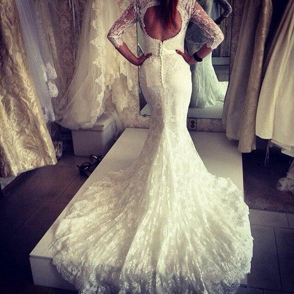 Свадебные платья instagram