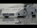 Bugatti EB110 GT - Драйверские опыты Давида Чирони