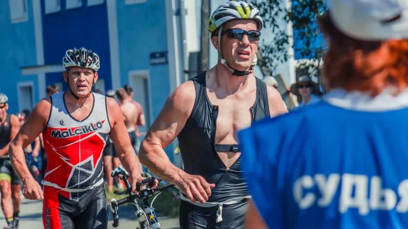 Триатлон-спринт. Новоуральск - 2018