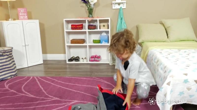 Куртка вверх тормашками ¦ Как научить ребенка одеваться 2-3 лет