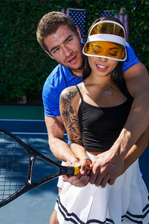 Brazzers - Tennis Balls Deep