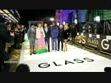 M. Night Shyamalan, Sarah Paulson, Bruce Willis, Samuel L. Jackson, James McAvoy, Anya Taylor-Joy at 'Glass' European Premiere