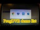 ProgTV review, install. ProgTV установка и просмотр каналов ТВ и радио.