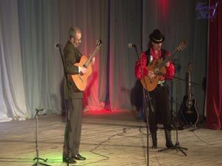 «цыганская венгерка » - гитарные вариации - евгений крапивинский и сергей игнатьев.