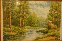 ...Наборы для вышивания Золотое руно Золотое руно - наборы для вышивания Времена года: Лосиный остров (Золотое руно).