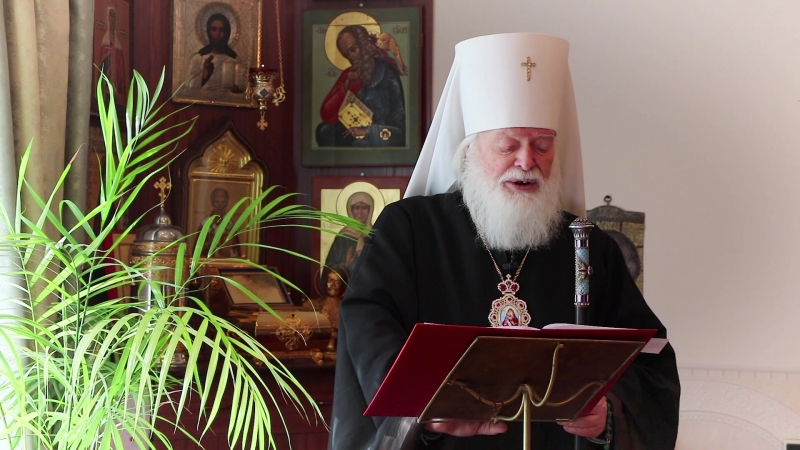 Пасхальное послание митрополита Псковского и Порховского Евсевия