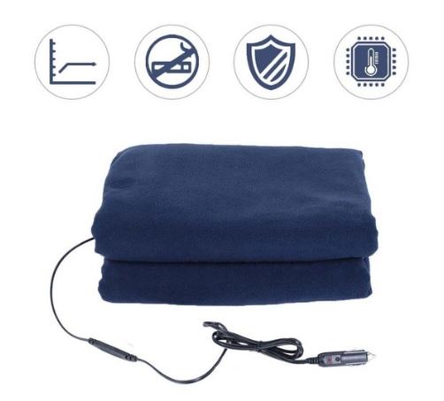Одеяло с подогревом от прикуривателя