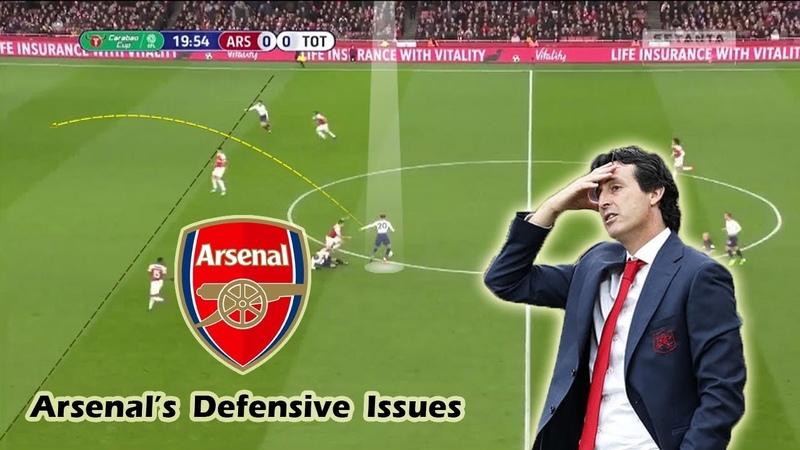 Arsenal's Defensive Issues Unai Emery's Defensive Tactics