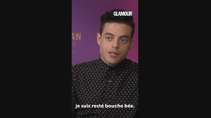 Linterview Name Dropping de Rami Malek GLAMOUR