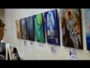 Открытие выставки тактильных картин Ангелы к которым можно прикоснуться