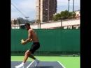 Упражнение с набивным мячом.Димитров