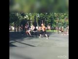 Утренняя тренировка 27 июня на Воркаут-площадке г. Йошкар-ола