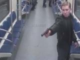 Фашизм в России. Расстрел дагестанца в московском метро! ВИДЕО камер наблюдения!