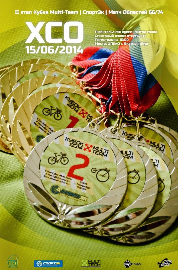 Афиша этапов Кубка Multi-Team 2014
