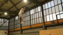 """Robin Hager on Instagram: """"Quick after-training Clip from today🔥 If you didnt know by now Yes i am a gymnast😂 @ramonwalter @gregroetrampoline grt..."""